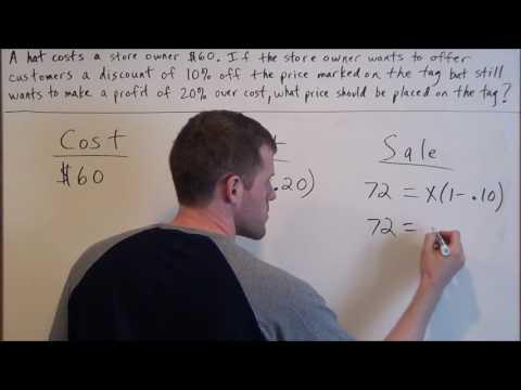 Percent Word Problem - SAT Math
