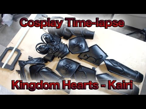 Cosplay Time-lapse - Kairi Kingdom Hearts
