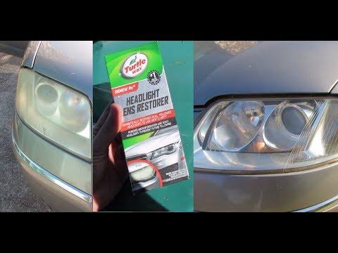 Turtle Wax Headlight Lens Restorer Review