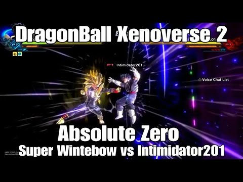 Dragon Ball Xenoverse 2 Absolute Zero - Super Wintebow vs Intimidator201