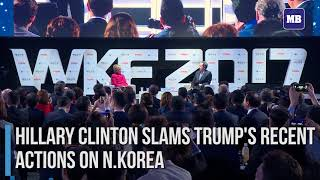 Hillary Clinton slams Trump