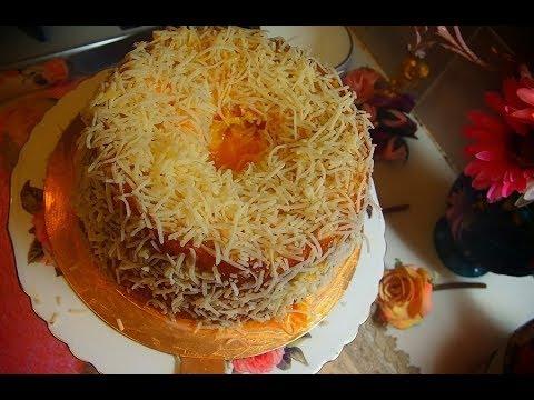 Chiffon Yema Cake