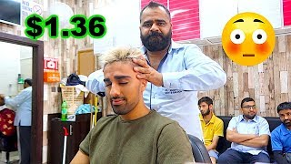 i spent $1.36 on a indian head massage ...