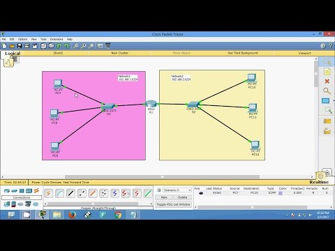 How to Connect two Networks using a router