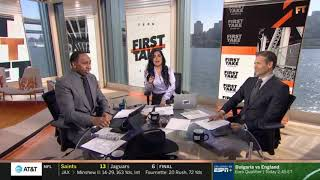 Stephen A. Smith on Week 6: Ravens defeat Bengals 23-17   First Take 10/14/19