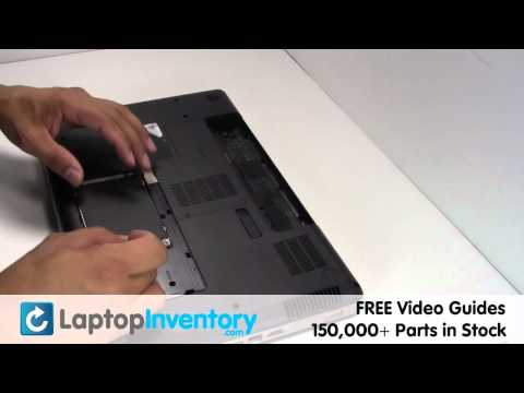 HP Compaq CQ56 G62 Hard Drive Replacement Guide - Install Fix Replace - Laptop HD