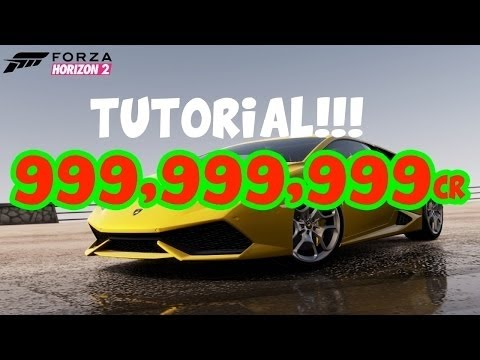 Forza Horizon 2: Unlimited Money Glitch! (360 ONLY!!)