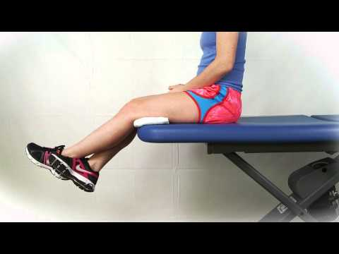 Seated Assisted Knee Flexion Extension