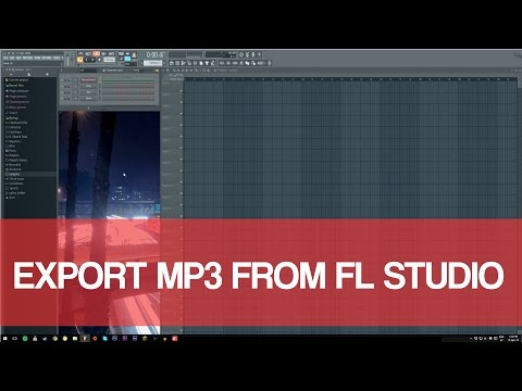 Export Mp3 FL Studio 2016