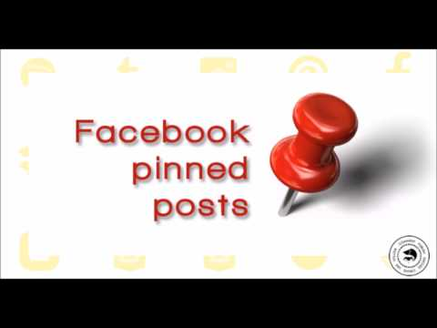 How to Pin a post on Facebook