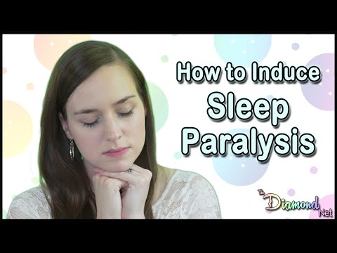 How to Induce Sleep Paralysis Explained - Out of Body Experience - Scientific Explanation