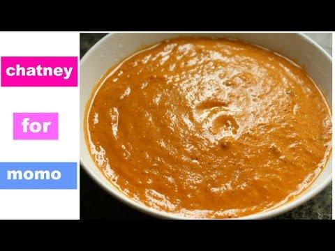 Chutney for momo Nepali style
