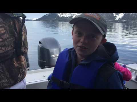 Shrimping in Whittier AK