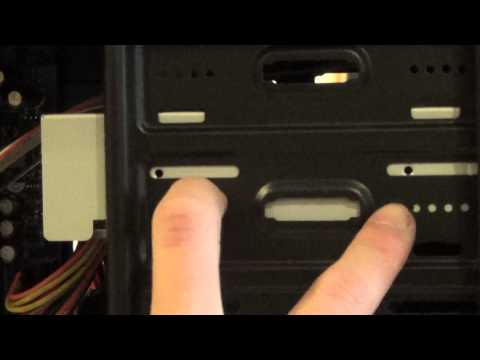 How To: Installing A DVD/CD Drive