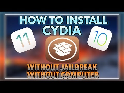 HOW TO INSTALL CYDIA WITHOUT JAILBREAK/COMPUTER ON iOS 11/10-10.3.3