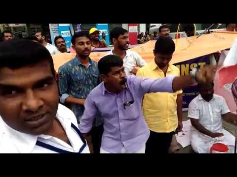Uber drivers strikes in Kochi