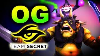 OG vs SECRET - AMAZING GAME - DPC EU DREAMLEAGUE S15 DOTA 2