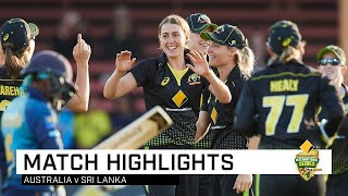 Healy's record-breaker leads Aussies to series sweep | Third CommBank T20I