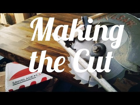 Making The Cut - Butcher Block Table Top Build