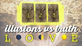 Pick A Card: What's The Truth About This Love Connection? Your Intuition Vs. Illusions?🌚🌞🌝