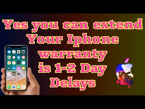how to extend apple warranty if you delayed 1-2 days | can I extend my iPhone warranty