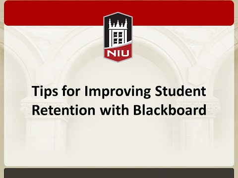 Tips for Improving Student Retention with Blackboard