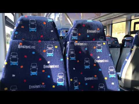 Ensign Bus BCI Excellence 142 LX17 DZC Route X10 Topodyn Thrash Part 1