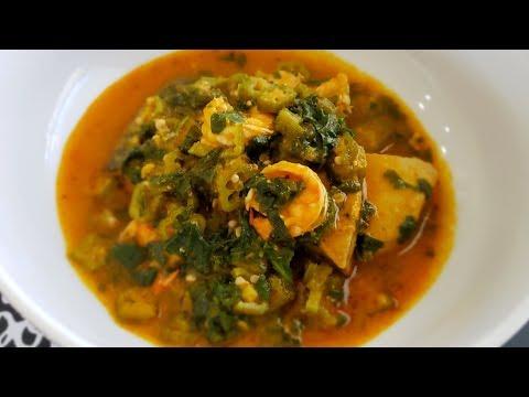 How to make Healthy Ghana Okro Soup   Keto Okra Soup   Okra Soup
