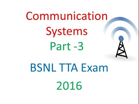 communication Systems part 3