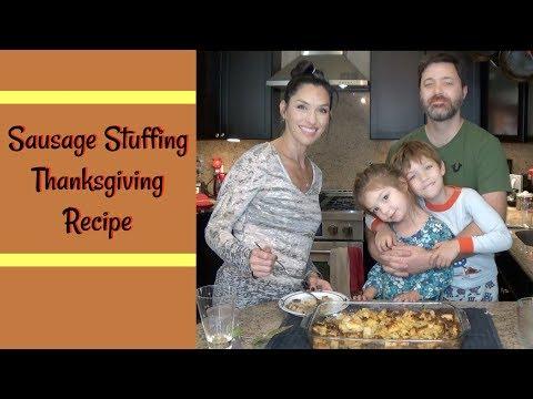 Thanksgiving Recipe: Sage Sausage Stuffing | Cooking Show