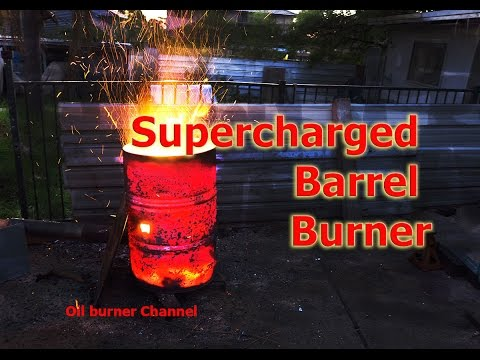 Turbo Burn Barrel. Fan forced fast rubbish incineration, No Smoke