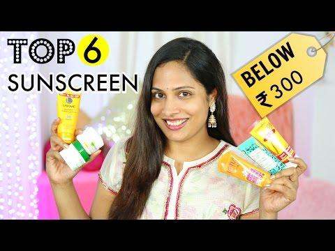 Best Sunscreen Lotion? My Top 6 Under ₹300 | ShrutiArjunAnand