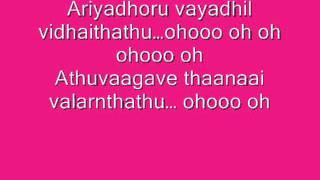 VEPPAM - Mazhai Varum Female Lyrics!!!