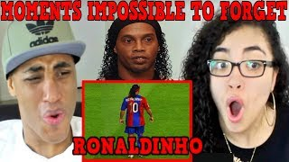 Ronaldinho Gaucho ● Moments Impossible To Forget REACTION | MY DAD REACTS