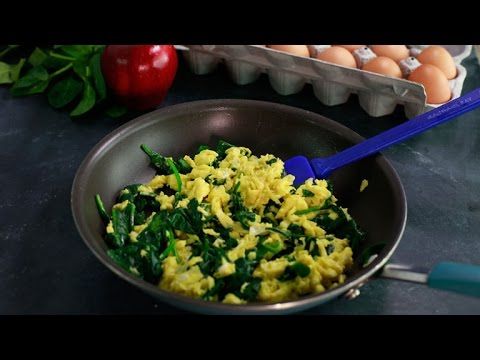 Learn How to Make Dr. Phil's Spinach Scrambled Eggs