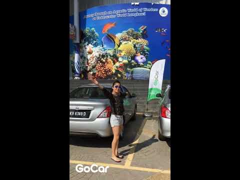 #TakeGoCar At Underwater World Langkawi