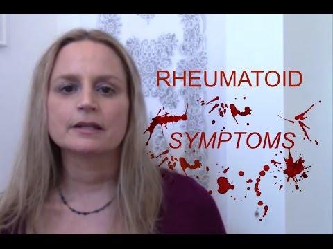 Rheumatoid Arthritis Disease Symptoms
