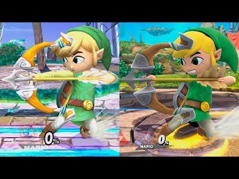 Super Smash Bros Wii U   Toon Link Evolution
