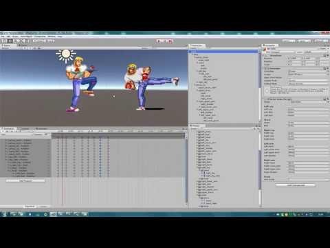 Unity 3D Brawler 2D -  Diário de bordo - Parte 1 (Beat' em Up)