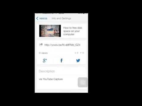 How to put links to videos on twitter (iPhone or iPad)
