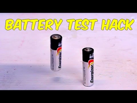 How to Test Batteries Hack