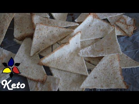 Nacho Chips (keto, vegan and grain free)