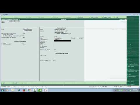SALES AND PURCHASE ENTRY WITH VAT IN TALLY ERP-9