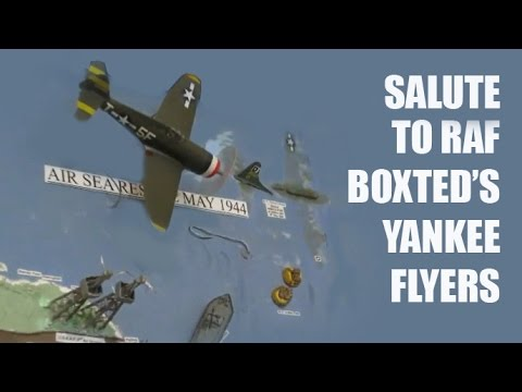 CRHnews -  Salute to RAF Boxted's Yankee Flyers