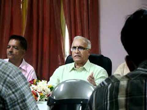 Press Confrence of Shivendra Upadhyay