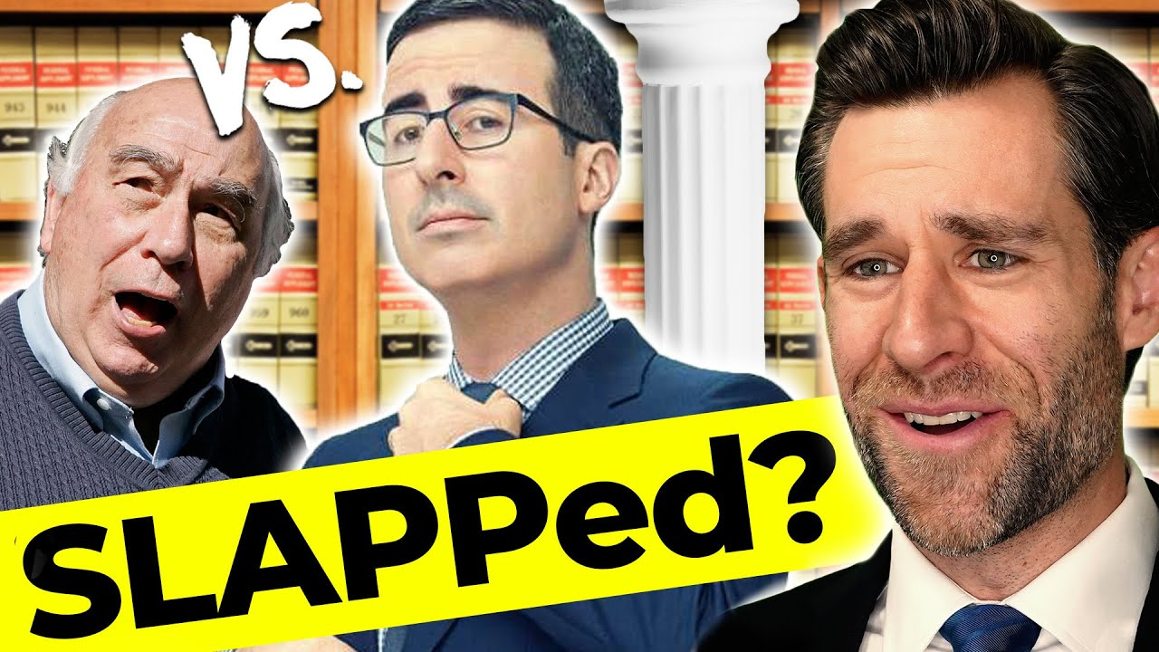 Lawyer Responds: John Oliver SLAPPs Back?  (Real Law Review)