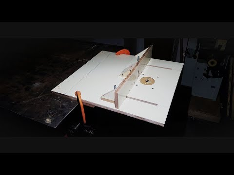 How to make a Router Table - DIY - Plans Available