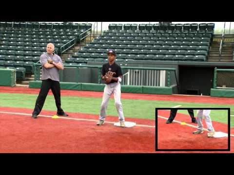 Ripken Baseball Fielding Tip - Receiving the Throw from First Base