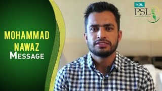 Is Muhammad Nawaz all set for HBL PSL 2017?  Find out!