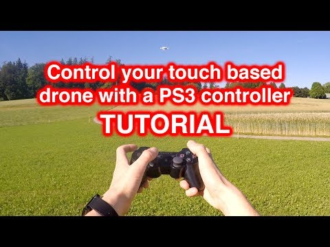 Tutorial pt2: use a PS3 controller instead of a touch screen - configuration